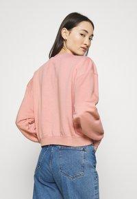 Nike Sportswear - Sweatshirt - rust pink/white - 2