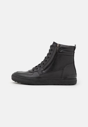 DAXON - High-top trainers - black