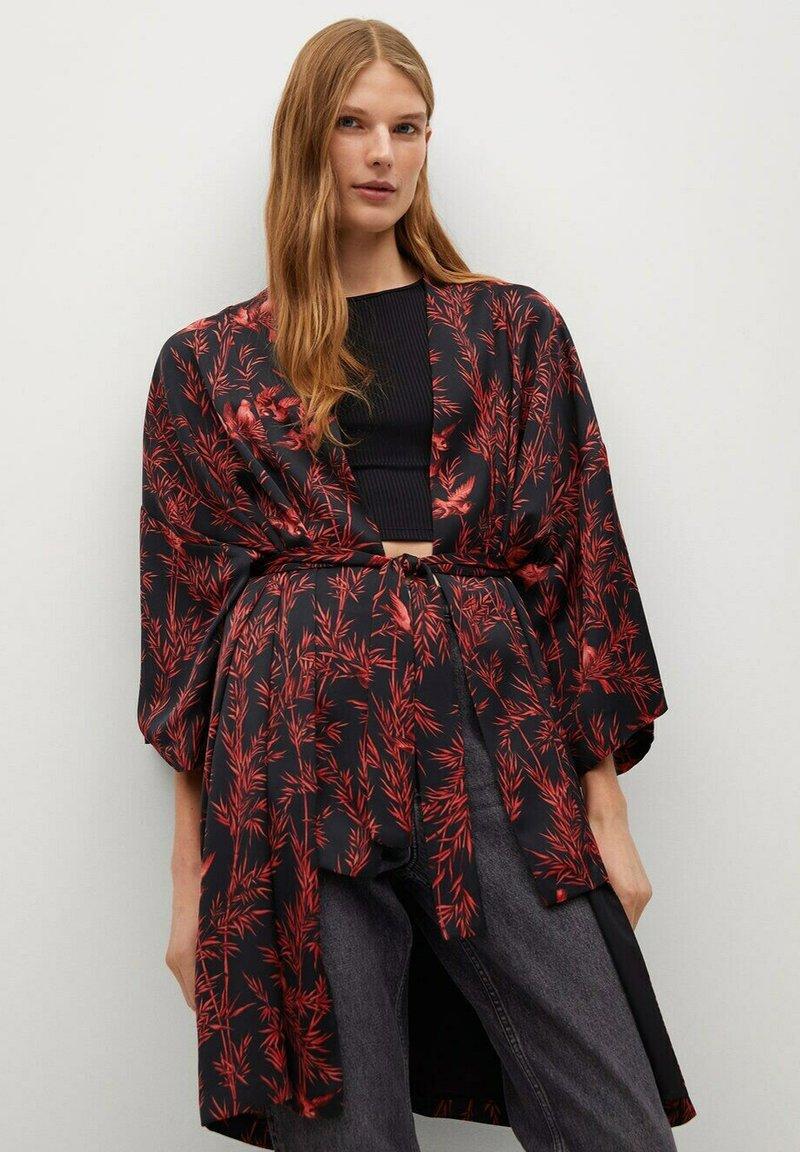 Mango - SIAM - Classic coat - schwarz