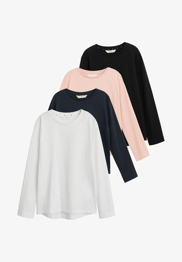 4 Pack - Long sleeved top - gebroken wit