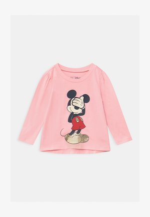 TODDLER GIRL MINNIE MOUSE - Top s dlouhým rukávem - light pink