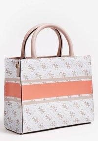 Guess - MONIQUE - Handbag - mehrfarbig, weiß - 1