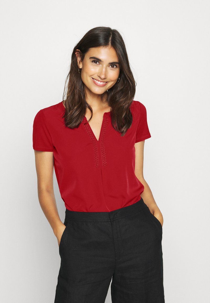 comma - Blouse - deep red
