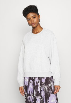 HUGE CROPPED - Sweatshirt - grey melange