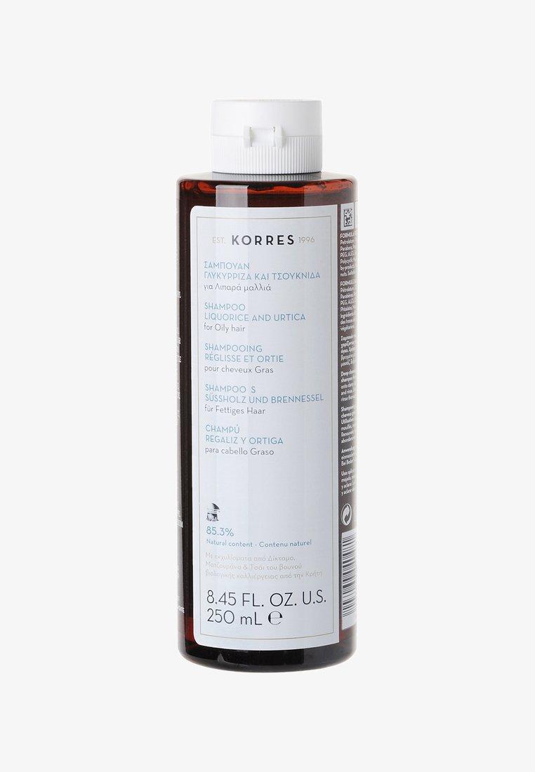 Korres - URTICA & LIQUORICE SHAMPOO - Shampoo - -