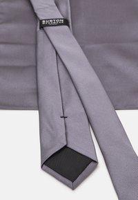 Burton Menswear London - SET - Tie - grey - 4