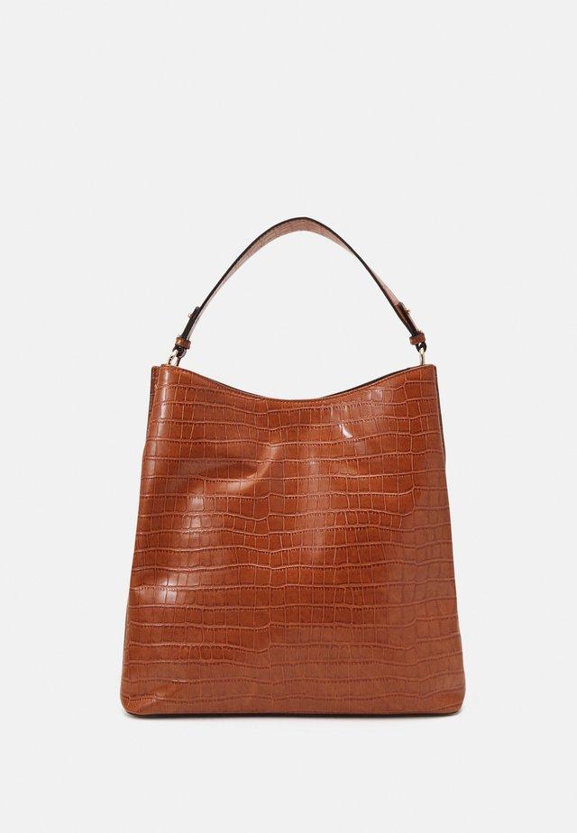 KAIA KAYNA BAG - Shopping bag - brown sugar