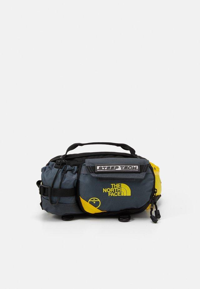 UNISEX - Bæltetasker - vanadis grey/lightning yellow