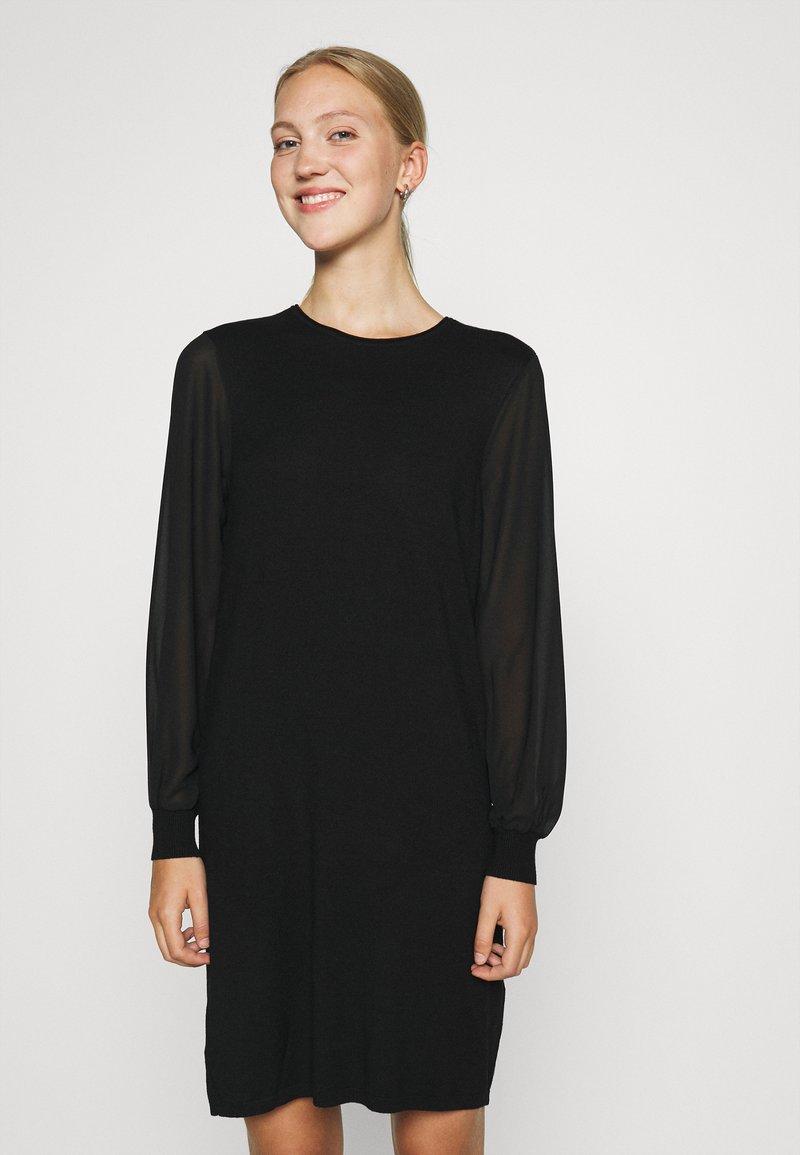 ONLY - ONLOFELIA DRESS - Neulemekko - black