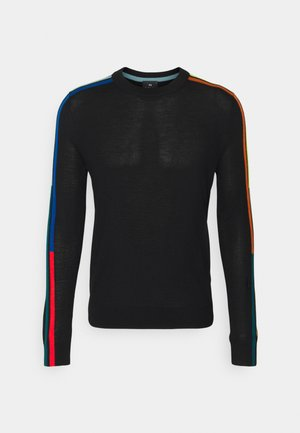 MENS CREW NECK - Trui - black