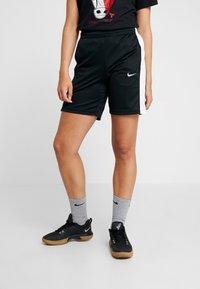 Nike Performance - NIKE DRI-FIT DAMEN-BASKETBALLSHORTS - Sportovní kraťasy - black/white - 0