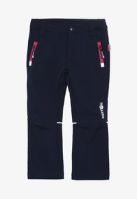 TrollKids - KIDS FJELL PANT - Outdoor trousers - navy/magenta - 3