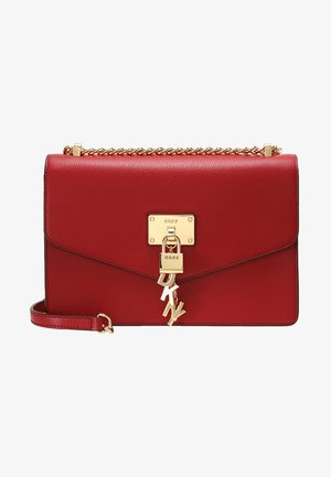 ELISSA SHOULDER - Across body bag - bright red