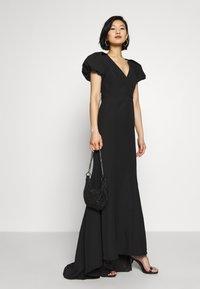 Jarlo - MAPLE TWINSET - Společenské šaty - black - 0