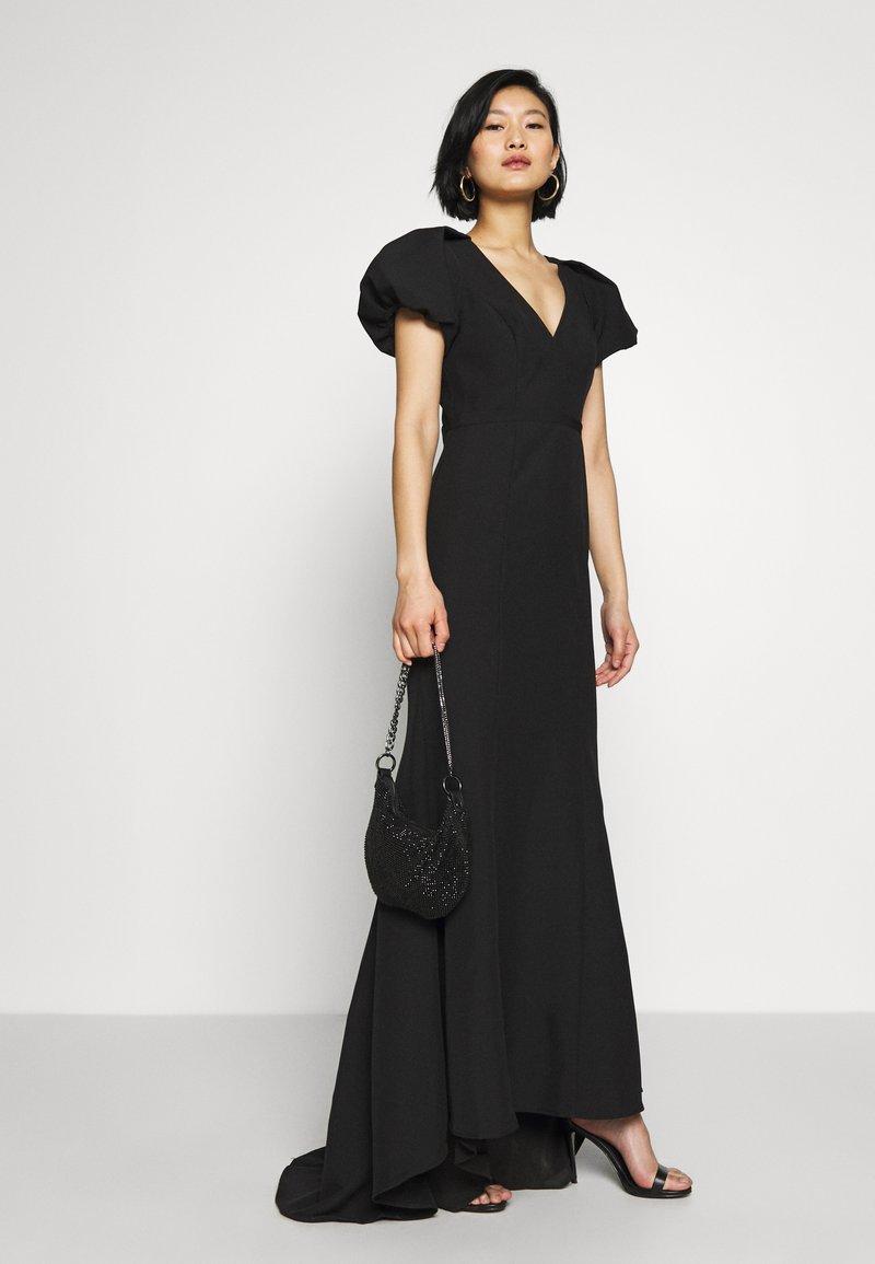 Jarlo - MAPLE TWINSET - Společenské šaty - black