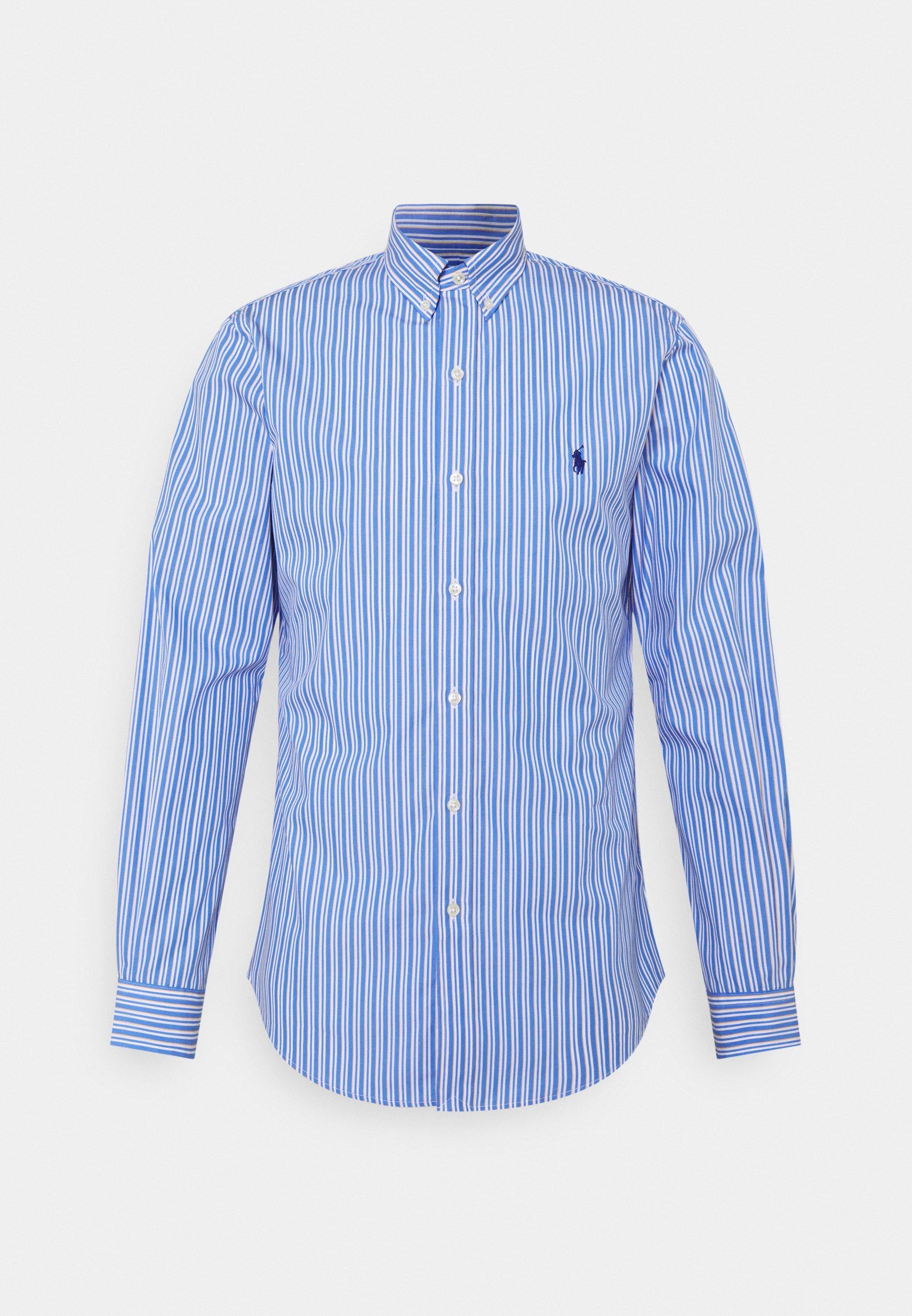 Uomo SLIM FIT STRIPED POPLIN SHIRT - Camicia