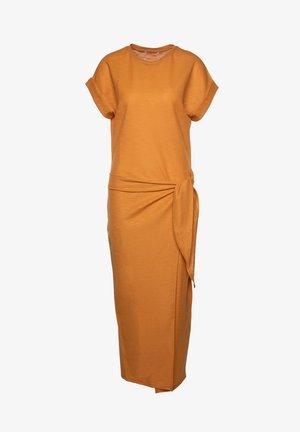 Day dress - dark yellow