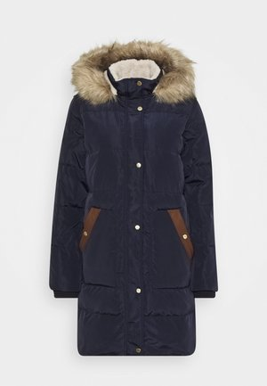 COAT HOOD - Piumino - dark navy