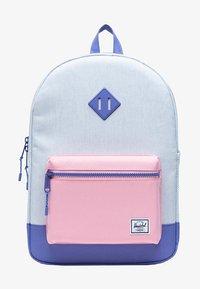 Herschel - School bag - ballad blue pastel crosshatch/candy pink/dusted peri - 0