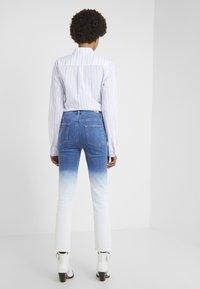 Paige - HOXTON  HEM - Jeans Skinny Fit - arctic ombre - 2