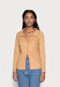 Fashion Union Petite - FENNEL CARDI - Cardigan - beige - 0