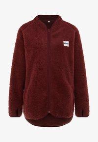 Eivy - REDWOOD SHERPA JACKET - Fleece jacket - wine - 5