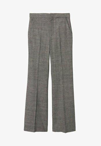 Spodnie materiałowe - grau