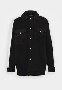 WRSTBHVR - GATY UNISEX - Fleece jacket - black - 4
