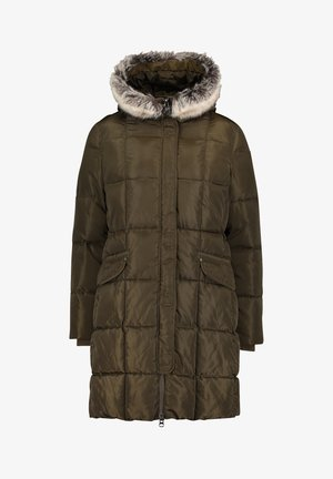 Winter coat - ivy green