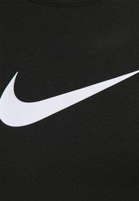 Nike Performance - TANK OPEN - Treningsskjorter - black/white - 4