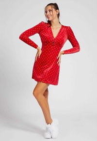 Guess - Day dress - dunkelrot - 1