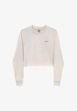 JUNIOR CROP - T-shirt à manches longues - light grey