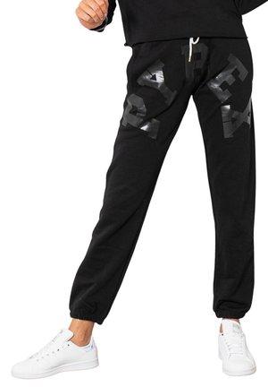 BIG LOGO CENTRALE  - Pantaloni sportivi - black