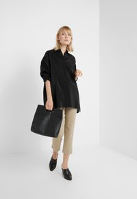 Filippa K - TECH - Button-down blouse - black - 1