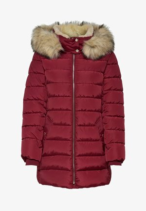 Winter coat - rhubarb