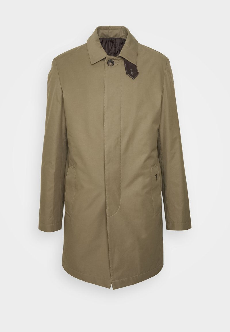 Trussardi - COAT REGULAR FIT - Classic coat - caribou