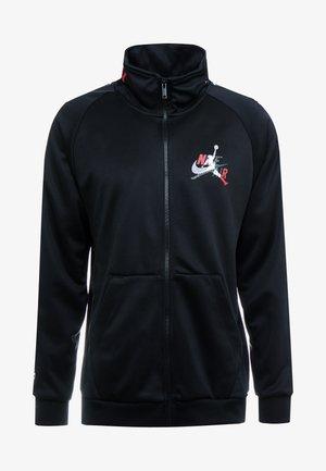 Chaqueta de entrenamiento - black/gym red/white