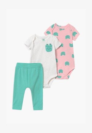 FROG 2 PACK SET - Leggings - Trousers - green