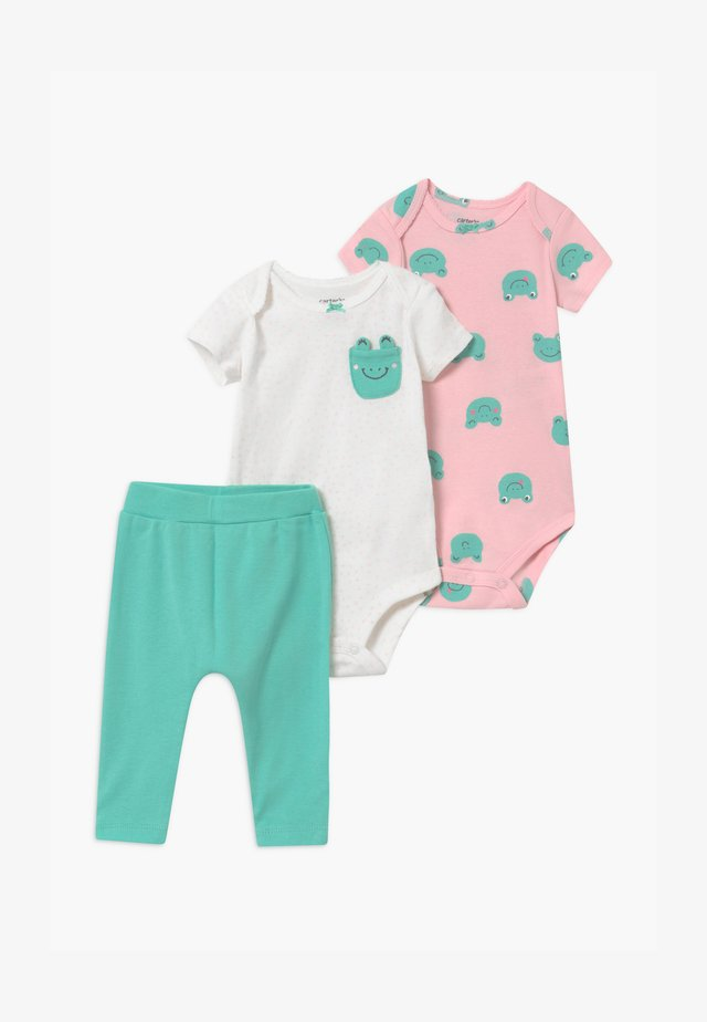 FROG 2 PACK SET - Legginsy - green