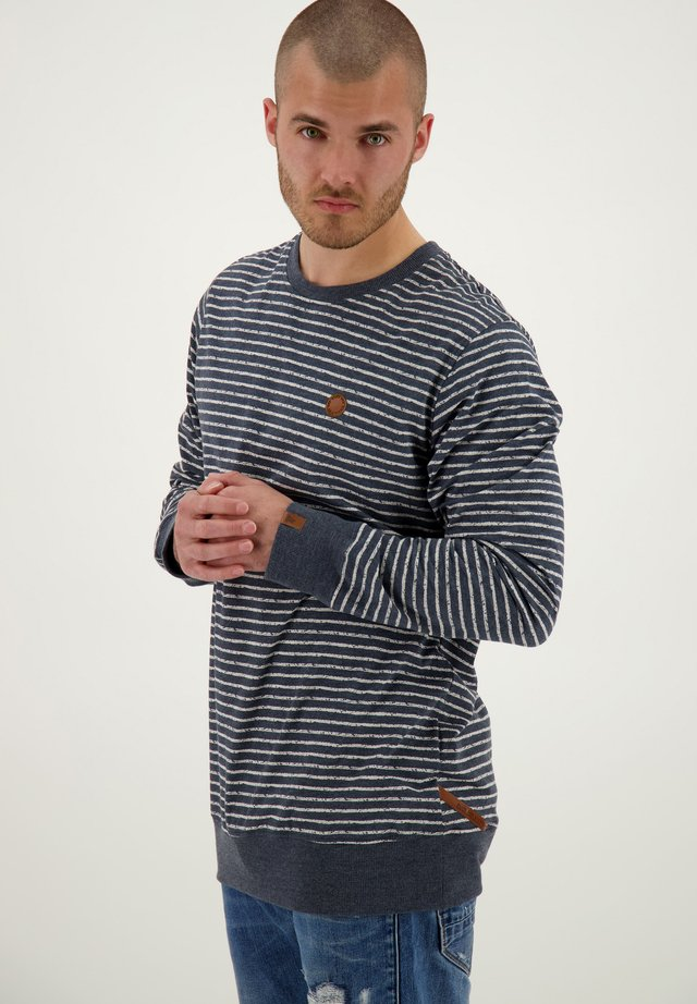 SAMUELAK - Long sleeved top - marine