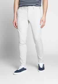 Only & Sons - ONSMARK TAP PANT  - Tygbyxor - chinchilla - 0