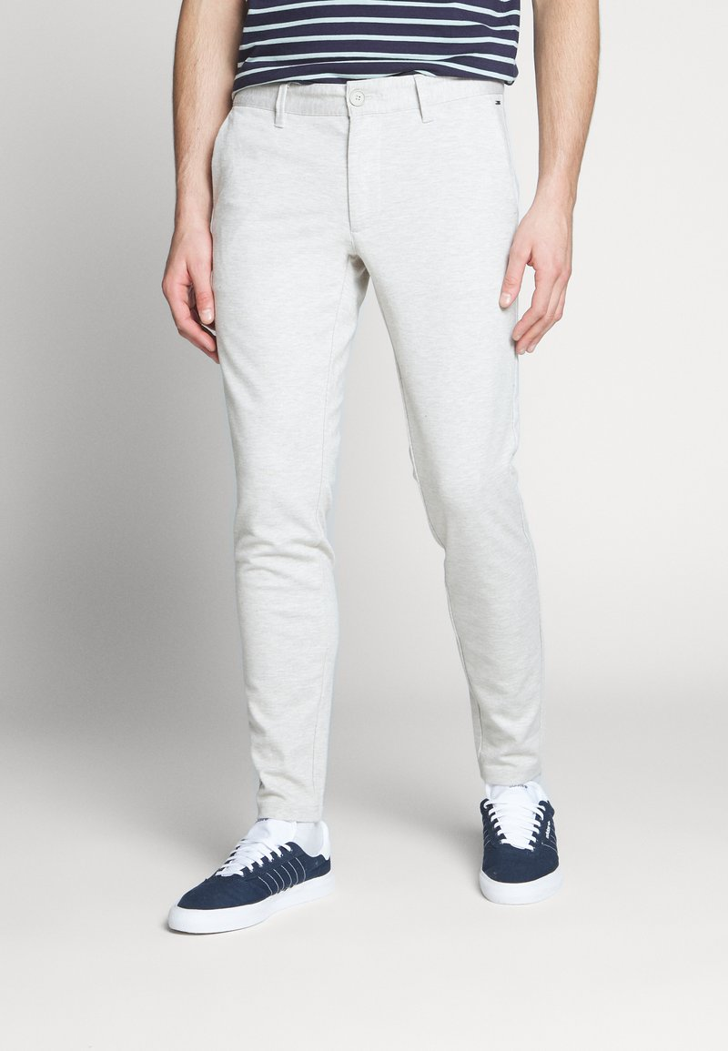 Only & Sons - ONSMARK TAP PANT  - Tygbyxor - chinchilla