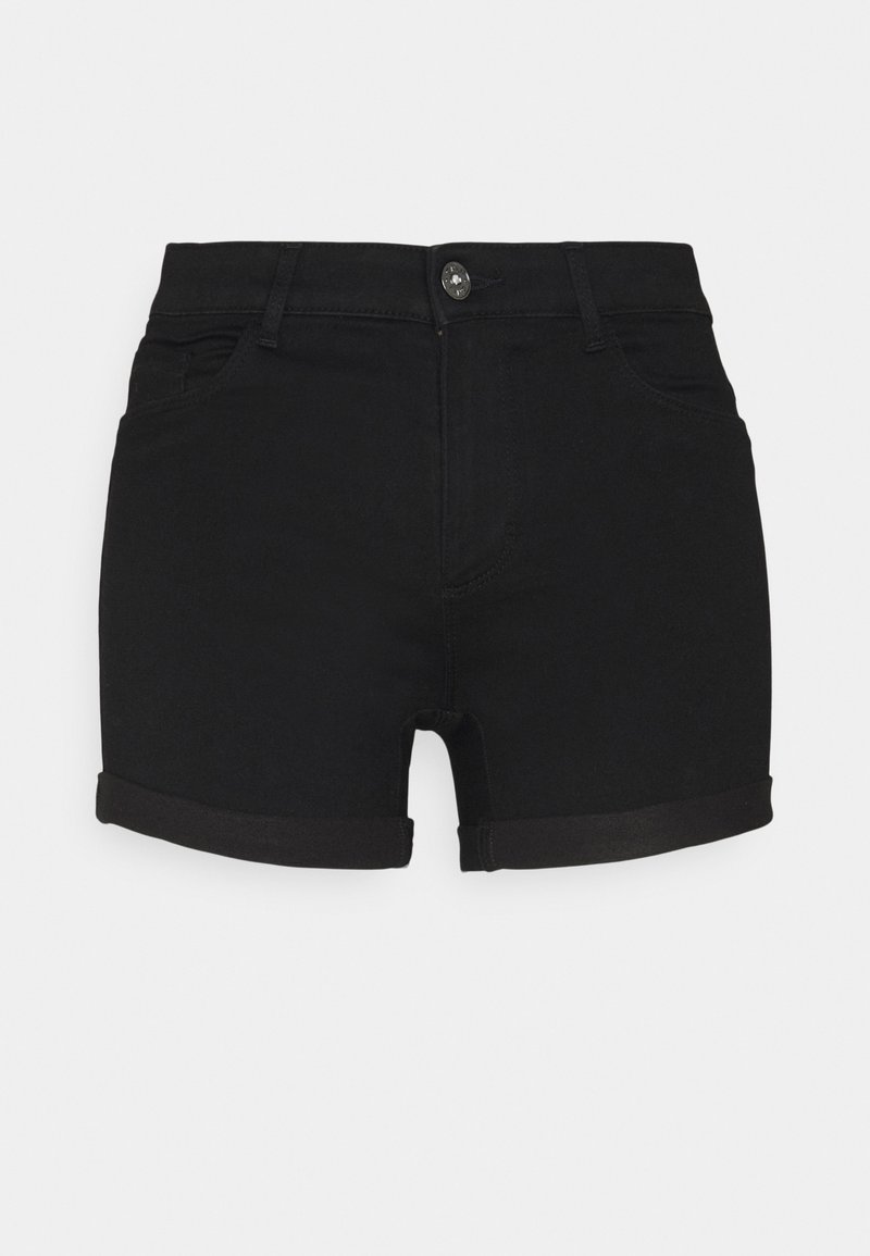ONLY - ONLROYAL LIFE - Shorts di jeans - black
