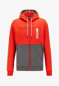 BOSS - SAGGY - veste en sweat zippée - grey - 3
