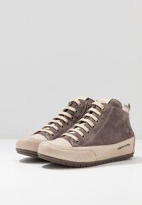 Candice Cooper - MID - Sneakers alte - choco/sabbia - 4