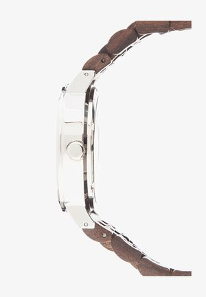 LAIMER AUTOMATIK HOLZUHR - ANALOGE ARMBANDUHR RAUL - Watch - brown