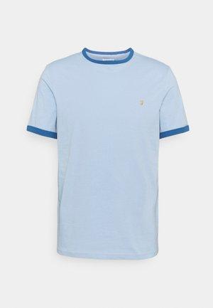 GROVES RINGER TEE - T-shirt med print - ocean blue