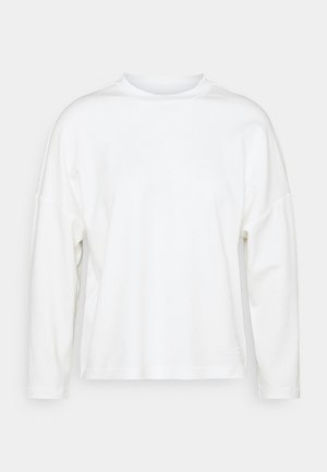 LONG SLEEVE HIGH NECK - Langarmshirt - paper white
