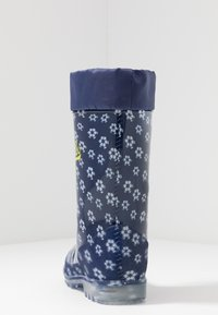 LICO - POWER BLINKY - Wellies - marine/weiss/lemon - 3