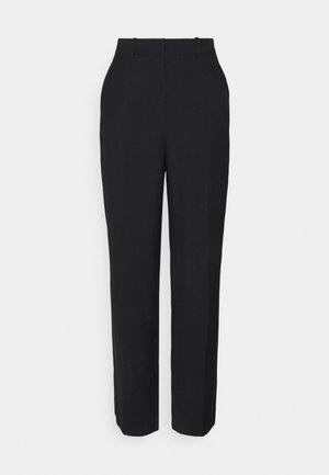OVERSIZED SUIT PANTS - Broek - black